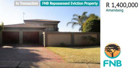 FNB Repossessed Houses